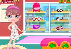 Игра Малышка Барби идет в школу
