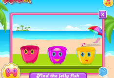 Игра Малышка Барби на пляже