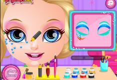 Игра Макияж для Малышки Барби в стиле Пони