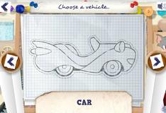 Игра Создай машину для гонок