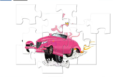 Игра Розовая Пантера на машине