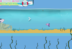 Игра Приключения Розовой Пантеры под водой