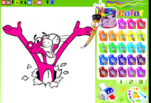 играйте в Розовая пантера Раскраска