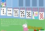 играйте в Игра Свинка Пеппа Солитер