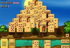 Игра Игра Солитер Пирамида