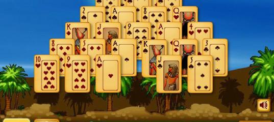Игра Солитер Пирамида