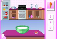 Игра Приготовить мороженое