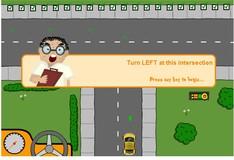 Игра Игра Такси автошкола
