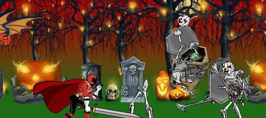 Игра Кровавый Хэллоуин