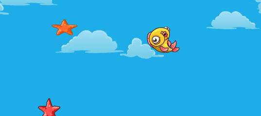 Игра Прыжки золотой рыбки