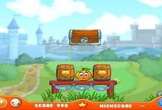 Игра Спаси апельсин