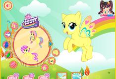 Игра Пони в стиле радуги
