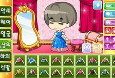 Игра Создай свою принцессу