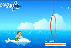 Игра Дельфин  в цирке