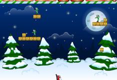 Игра Санта против эльфов зомби