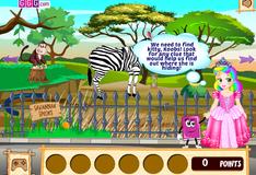 Игра Принцесса Джульетта сбегает из зоопарка
