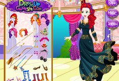 Игра Наряд эмо для принцессы Мериды