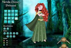 Игра Наряд для принцессы Мериды