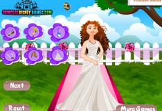 Игра Свадебный наряд для принцессы Мериды