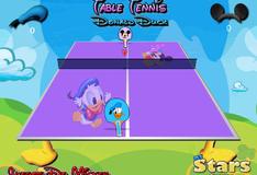 Игра Настольный теннис с Дорнальдом Даком