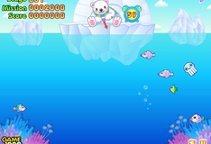 Игра Медведь на рыбалке