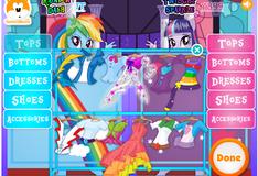 Игра Май Литл Пони: Модные соревнования