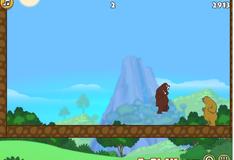 Медведь любит яблоки