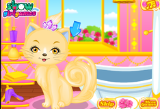 Игра Принцесса кошка