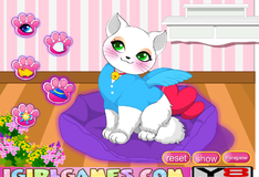 Игра Новый образ для кошки