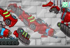 Игра Собери робота динозавра