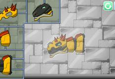 Игра Сборка робота динозавра