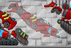 Игра Собери робота терранозавра