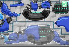 Игра Собери  Дино робота