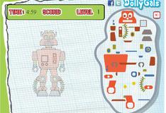 Игра Собери моего робота