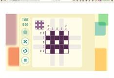 Игра Пересечение пикселей