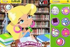 Игра Развлечения в библиотеке
