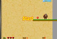 Игра Мишка собирает блоки