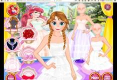 Игра Прекрасное свадебное платье для принцессы