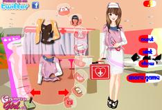 Игра Наряд для медсестры