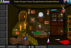 Игра Побег из избушки Бабы Яги