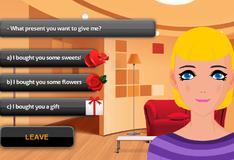 Игра Знакомство с девушкой СИМс