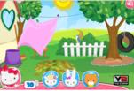 Играть бесплатно в Игра в прятки с Хелло Китти