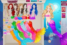 Игра Барби: Великолепная принцесса-русалка