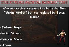 Игра Игра Тест на знание Мортал Комбат