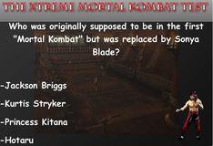 Игра Тест на знание Мортал Комбат
