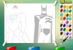 Фото Супермена и бэтмена