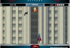 Супермен спасает город