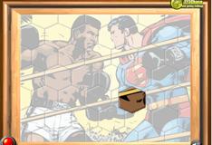 Игра Супермен на ринге