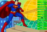 Игра Одень супермена