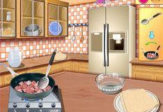 Игра Кухня Сары: Паста карбонара